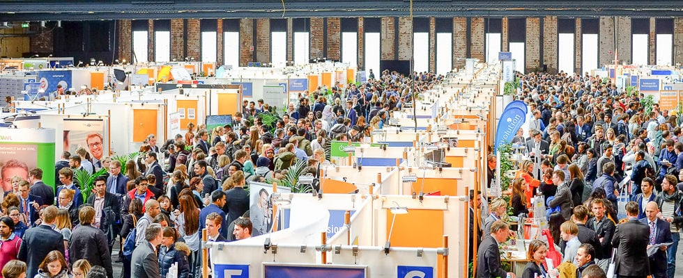 Impressionen von der Karriere Recruiting Messe