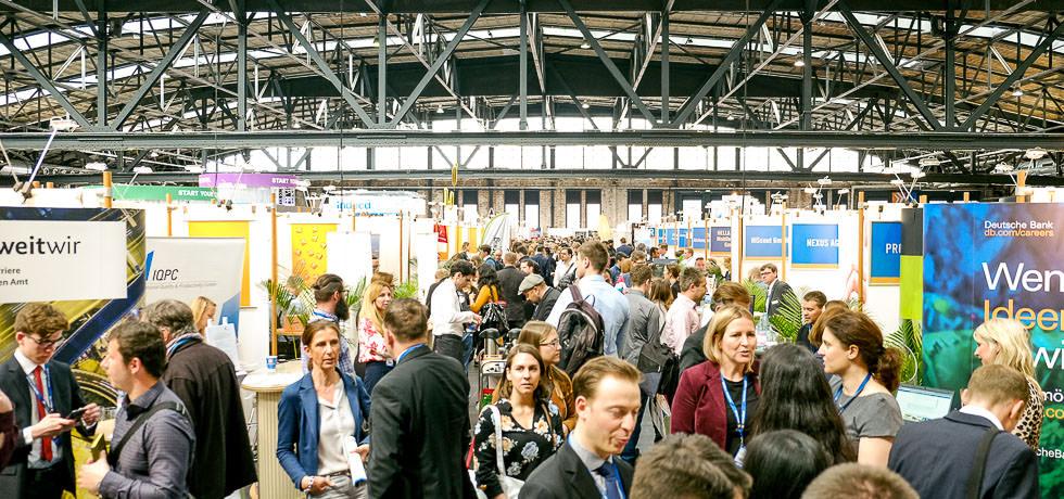 Fotos von der connecticum Messe