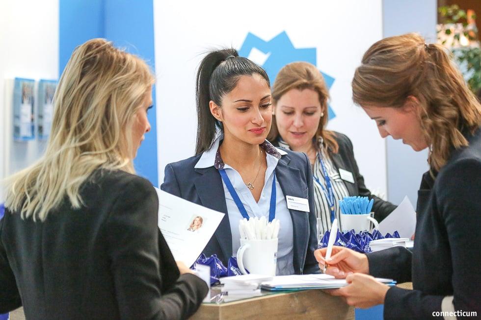 Feedback für die Bewerbungsunterlagen - CV-Checks  - connecticum 2019 - Mittwoch