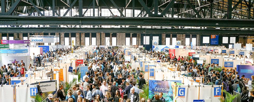 Foto von der connecticum Jobmesse