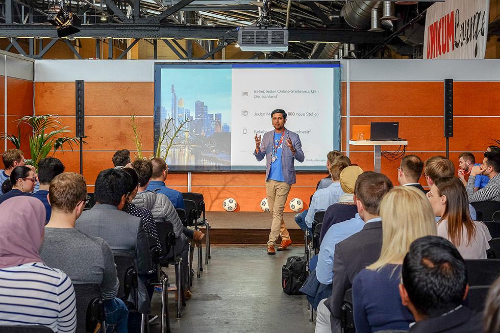 Jobmesse Vorträge und Events - connecticum 2019 - Dienstag