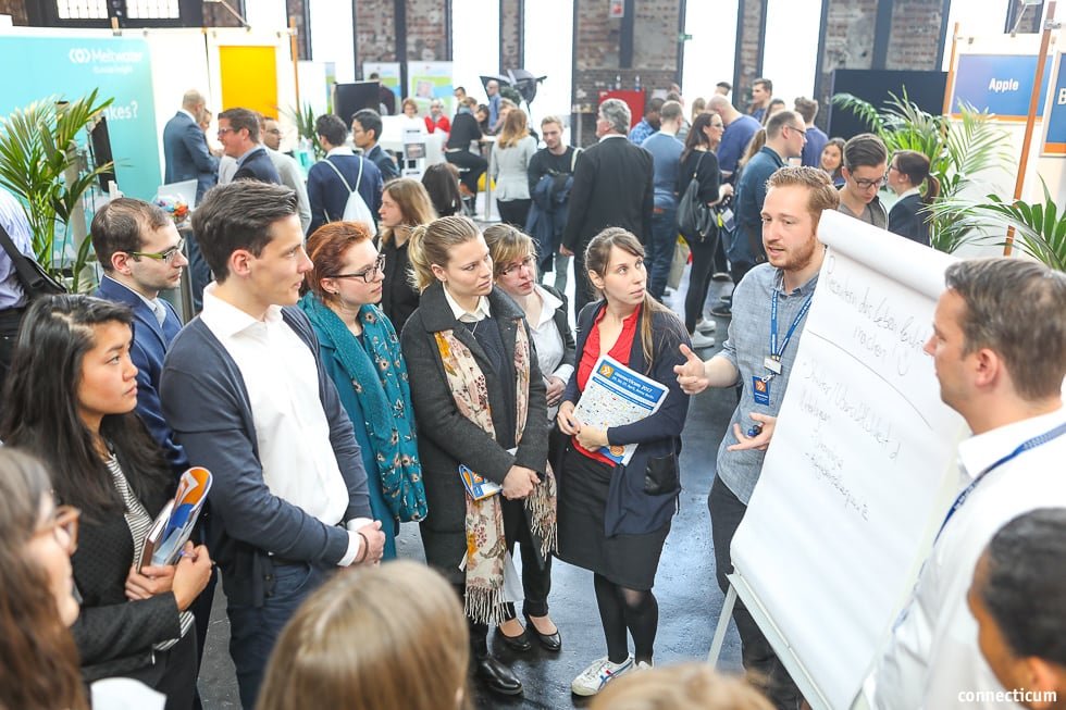 Jobmesse Vorträge und Events - connecticum 2018 - Mittwoch