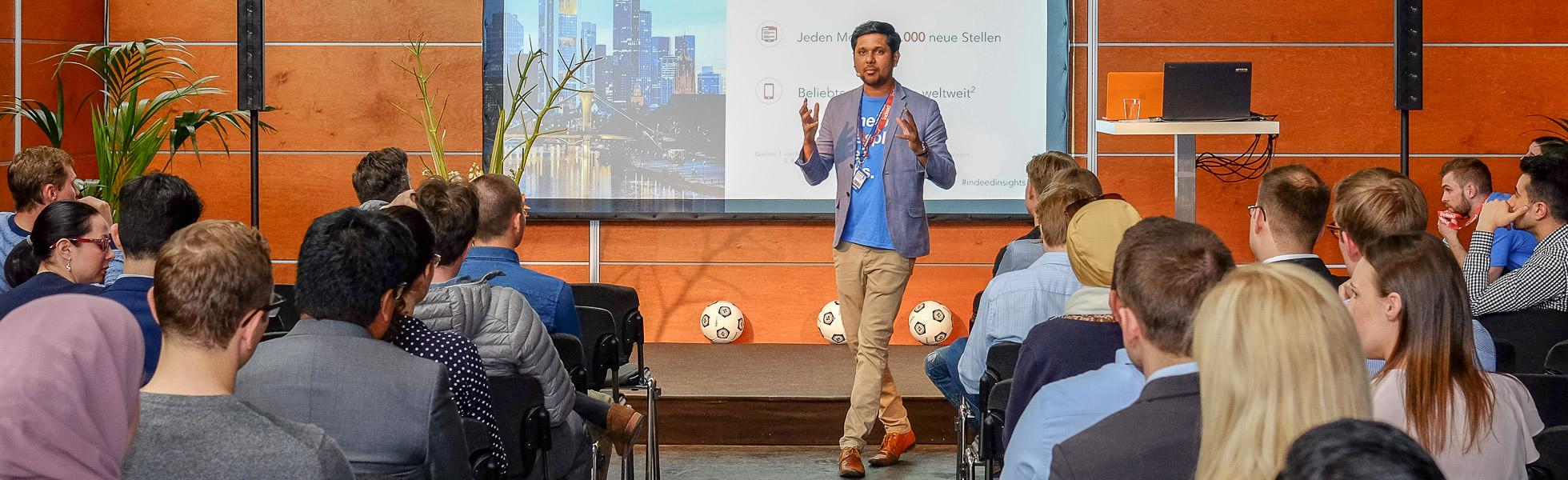 Foto eines Vortrages auf der Connecticum