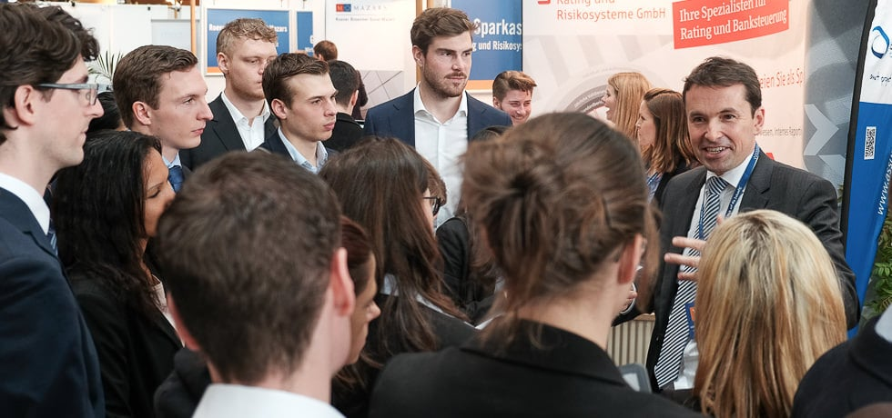 Foto von der connecticum Recruitingmesse