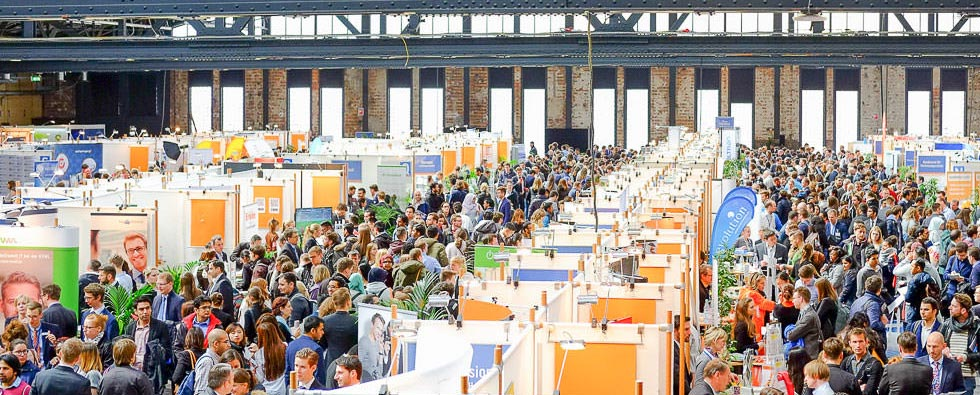Foto von der connecticum Recruitingmesse