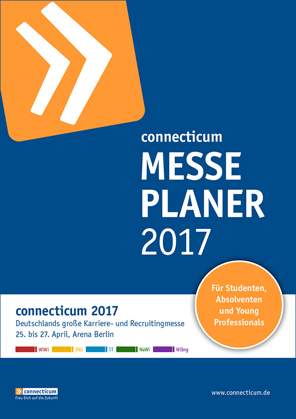 Messeplakat der connecticum 2017