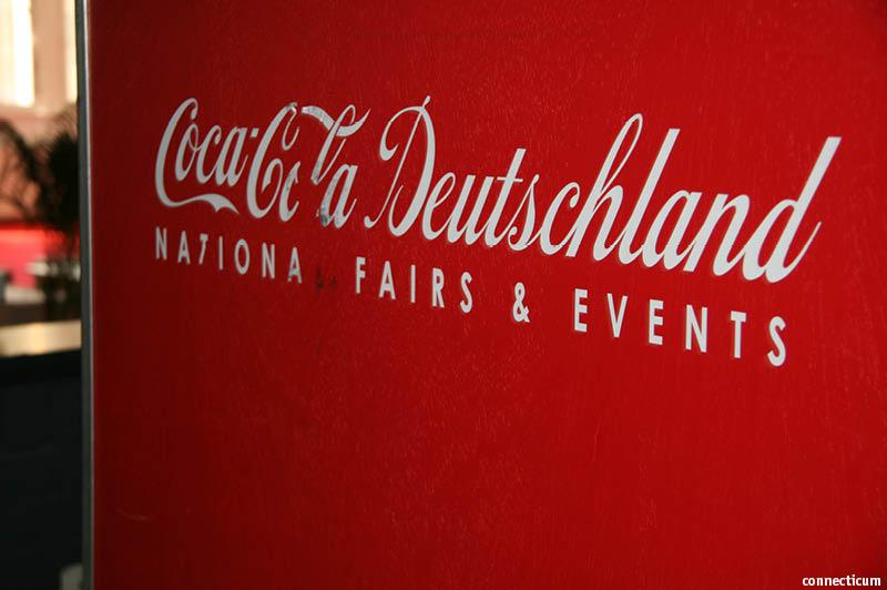 Messebau-Box von Coca-Cola auf der connecticum 2012