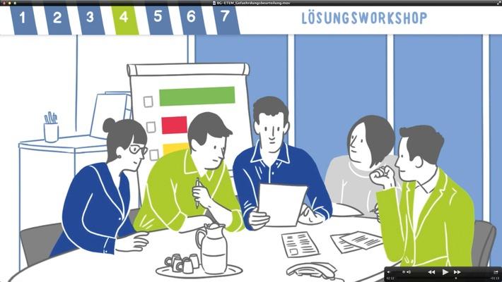 Gesunde-Beschaeftigte-erfolgreicher-Betrieb-BG-ETEM-bietet-Online-Plattform-zur-Erfassung-der-psychischen-Belastung-In-sieben-Schritten-zu-gesunden-Arbeitsbedingungen