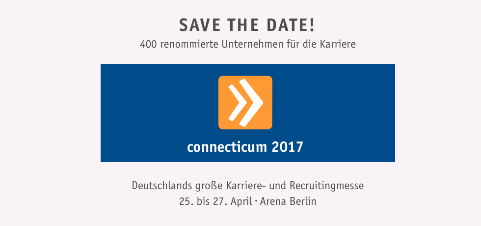 Karrieremesse 2017 - Save the date