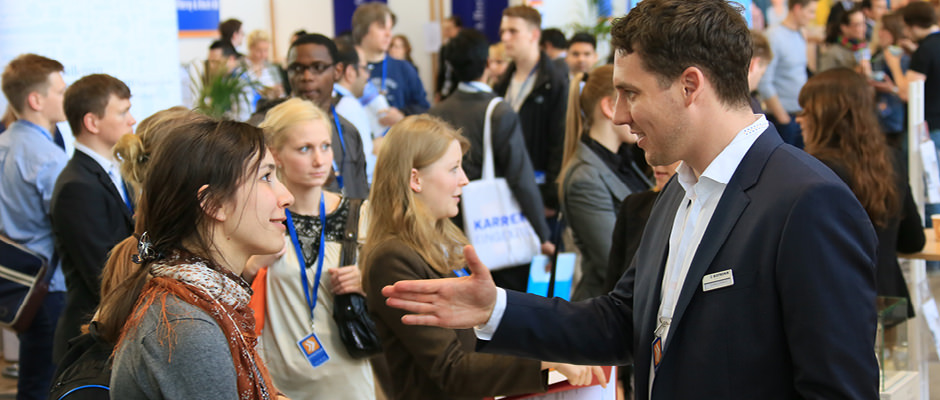 Impressions of the career fair