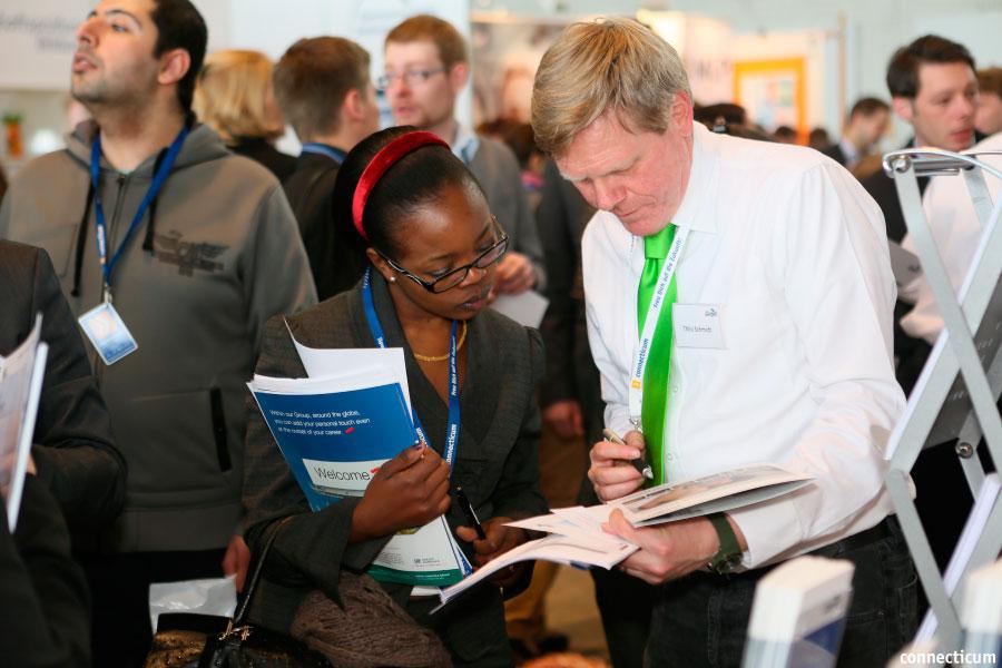 bewerber finden durch recruiting auf jobmessen in berlin - Bewerber Finden