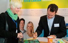 Bilfinger bei der Personalrekrutierung auf der Karrieremesse in Berlin