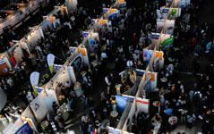 Deutsche und internationale Unternehmen auf der Karrieremesse in Berlin