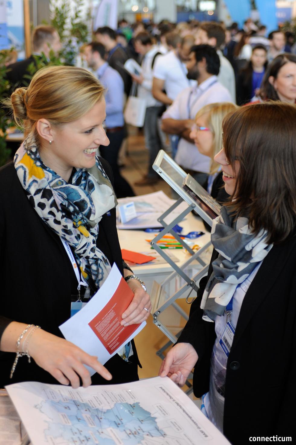 Deutschland- und europaweite Stellenangebote auf der Karrieremesse in Berlin