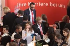 Eine Messe, 400 Unternehmen und  über 18.000 Studenten und Absolventen