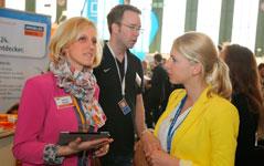 Immobilien Scout auf Mitarbeitersuche auf der Karrieremesse Berlin
