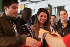 Jedes Jahr kommen über 18.000 Studenten, Absolventen und Young Professionals aus ganz Deutschland zur Karrieremesse nach Berlin
