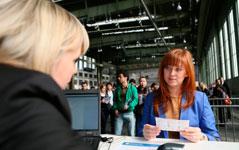 Karrierestart durch Besuch einer Jobmesse in Berlin