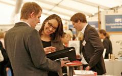 Personal Recruiting auf einer Karriereveranstaltung