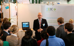 Personalrecruiting bei IBM im Dialog Event
