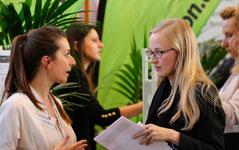 Praktikanten gesucht und Karrierestarter gefunden - Die Karrieremesse in Berlin