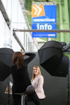 Professionelle Fotoshootings auf der connecticum - und das gratis