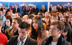 Recruiting von Bewerbern - auf Karrieremessen werden Mitarbeiter gesucht