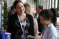 Spontane Bewerbungsgespräche auf der Karrieremesse