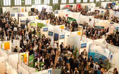 Top Arbeitgeber aus Deutschland und Welt sind auf der Messe vetreten