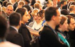 Über Jobchancen informieren Karrieretage