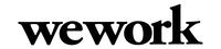 Karrieremessen-Firmenlogo WeWork